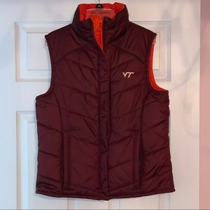 Women's Columbia Virginia Tech Reversible Vest